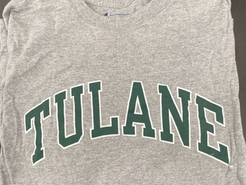 Selling A Singular Item: Tulane long sleeve