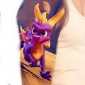 Tattoo design: Spyro