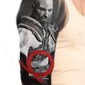 Tattoo design: God Of War B&G