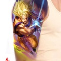 Tattoo design: Goku