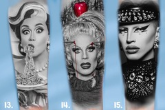Tattoo design: RuPaul's Drag Race Design 13