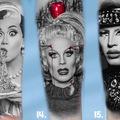Tattoo design: RuPaul's Drag Race Design 15