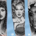 Tattoo design: RuPaul's Drag Race Design 16
