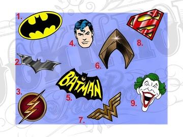 Tattoo design: DC - 2 - Metallic Batman Symbol