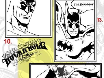 Tattoo design: DC - 10 - Batman Illustrative