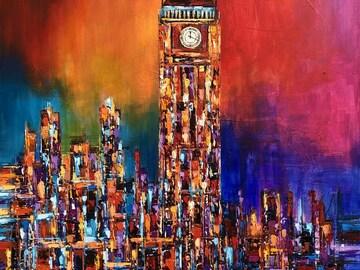 Sell Artworks: Big Ben Clock Tower, London