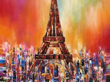 Sell Artworks: Eiffel Tower
