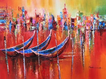 Sell Artworks: City of Water, Venice