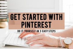 Offering online services: Pinterest Action Plan - Let's Get Started!