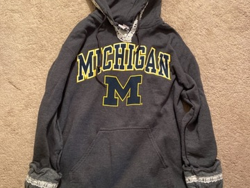 Selling A Singular Item: Michigan Lace Sweatshirt