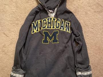 Selling A Singular Item: Michigan Lace Sweatshirt
