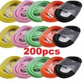 Liquidation/Wholesale Lot: 200x USB Data Sync Charging Cable Cord for iPhone 4 4S 3Gs iPod