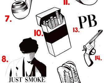 Tattoo design: 13 - PB