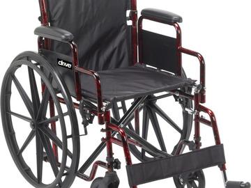"SALE: Drive Medical Rebel Wheelchair 18"" Swing-Away Footrest"