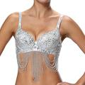 Liquidation/Wholesale Lot: Closeout Sexy Sequin Bra Top Cabaret Party Club Wear