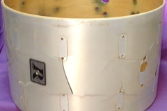 Selling with online payment: 1970s Rogers 14x22 Memori-lok bass drum shell
