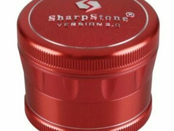 Post Products: 2.5 in Sharpstone 2.0 4pc Grinder – Red