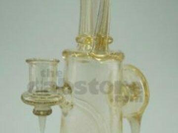 Post Products: 710 Glass – BlueV Horned Banger Hanger 14 MM F
