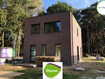 .: Eigentijdse halfopen bebouwing in houtskeletbouw | door 3bouw