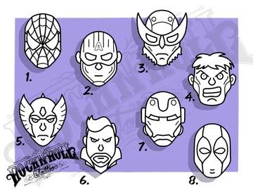 Tattoo design: Marvel Flash - 1
