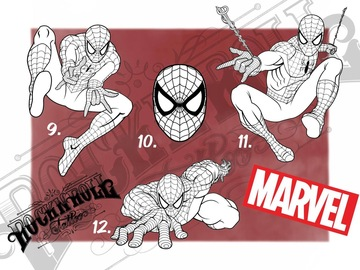 Tattoo design: Marvel Flash - 12