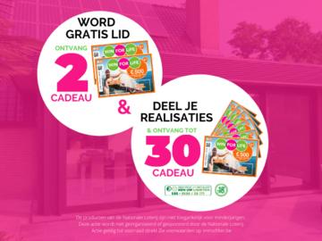 .: Word lid, deel je realisatie(s) & ontvang tot 30 Win For Life!
