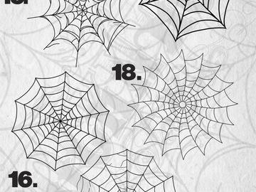 Tattoo design: Web - 18