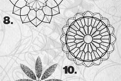 Tattoo design: Mandala - 9