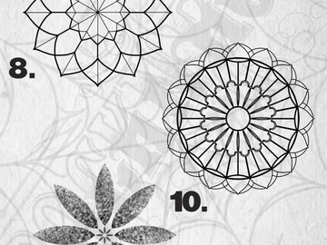 Tattoo design: Mandala - 10