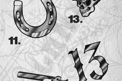Tattoo design: 12 - Blade