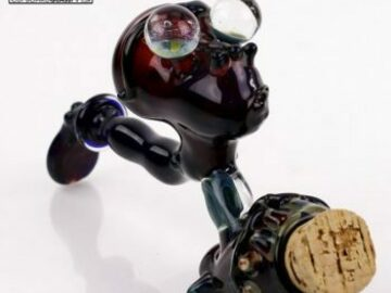 Post Products: Ben Naiman – 'Jar-Pi' Sherlock Pipe with Attached Jar