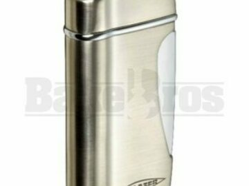 Post Products: Blazer The Original Torch Butane Refillable Stratus Silver Pack O