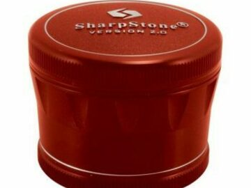 Post Products: 2.25 In Sharpstone 2.0 4pc Grinder – Red