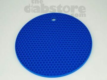 Post Products: Blue Silicone Honey Comb Dab Mat