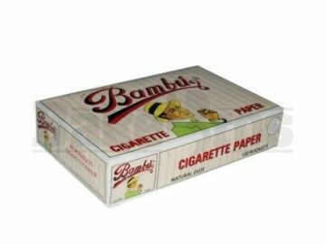 Post Products: Big Bambu Rolling Papers 1 1/4 Unflavored Pack Of 100