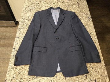 Selling with online payment: Tommy Hilfiger Blue 3-piece wool suit