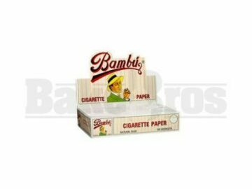 Post Products: Big Bambu Rolling Papers 1 1/4 Unflavored Pack Of 50