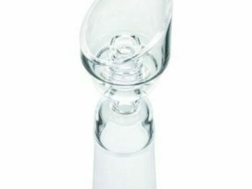 Post Products: Boo Glass Female Angled Domeless Quartz Nail