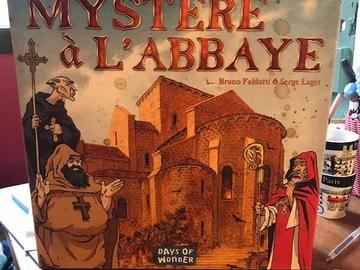 Vente avec paiement en ligne: mystère à l'abbaye