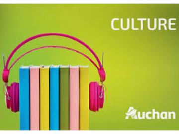 Vente: Carte Cadeau Auchan Culture (100€)
