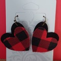 Selling with online payment: Faux Leather Earrings