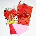 Buy Now: 50 sets-Assort Valentine's Day 10″ Gift Bag Sets – Only $1.20/Set