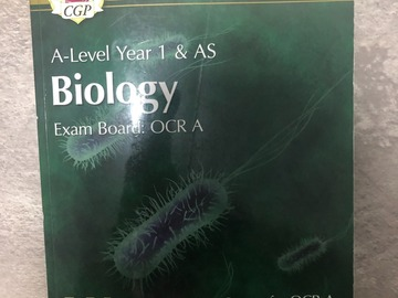 Selling with online payment: A-Level Year 1&AS Biology textbook