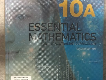 Selling with online payment: 10&10A Essential Mathematics Second Edition