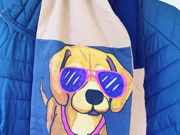 Selling: Beagle person winter scarf