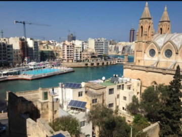 Rooms for rent: Private room for rent in Sliema, with double bed