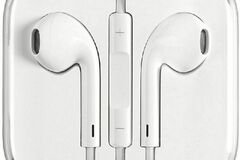 Liquidation/Wholesale Lot: Generic White 3.5mm Headphones/Earbuds for iPhones