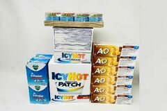 Liquidation/Wholesale Lot: Variety of In-Date Pharmacy Supplies