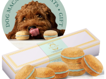 Selling: Mint Dog Macarons - #1 best dog gift by Marie Claire