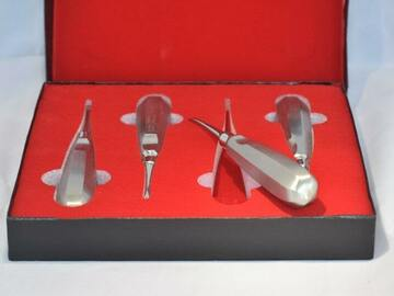 Nieuwe apparatuur: 4-delige Hevelset (€52) nieuw in verpakking.